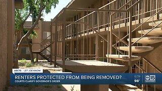 Are renters actually protected from being evicted?