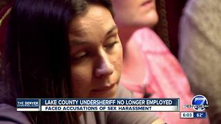 Lake County undersheriff out amid sexual harassment allegations - Video