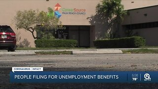'Surge' expected in unemployment benefits at West Palm Beach office
