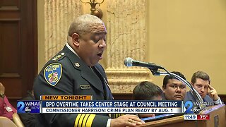 Commissioner Harrison shares BPD budget and plans to reduce overtime