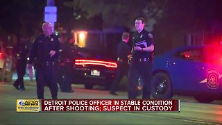 DPD Officer Shot, Wounded Suspect in Custody