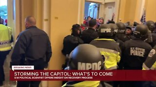 Storming the capitol: What's to come
