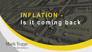 INFLATION - Is it coming back?