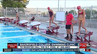B.C. Swimming Clinic this week