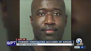 Former West Palm Beach firefighter charged with arson at Walmart - Video