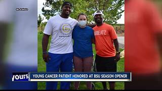 Magic Valley girl with cancer gifted with trip to Boise State football game - Video