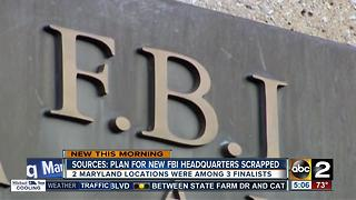 Report: Government scrapping search for new FBI headquarters - Video