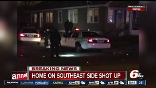 Southeast-side house shot at while children were inside - Video