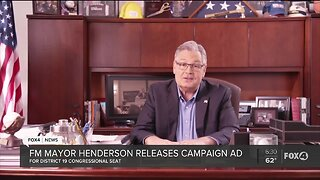 Fort Myers mayor releases ad for congress campaign