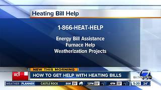 How to get help with heating bills - Video
