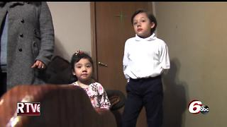 Two children caught in immigration dilemma - Video