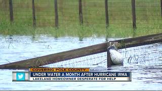 Lakeland still underwater after Hurricane Irma - Video