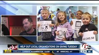 Giving Tuesday: 9 places to give back in Indianapolis - Video