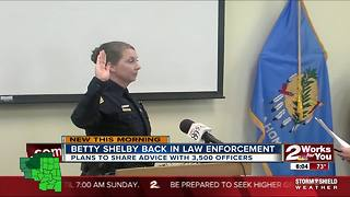 Betty Shelby to speak at cop convention - Video