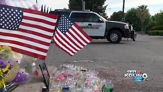 Vigil to honor Nogales officer killed while on duty - Video