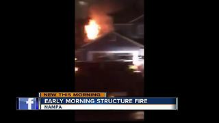Crews put out fire in Nampa home - Video