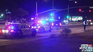 Pedestrian struck at Park and Benson Highway - Video