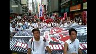 Thousands Throng Hong Kong Streets to Protest Extradition Bill