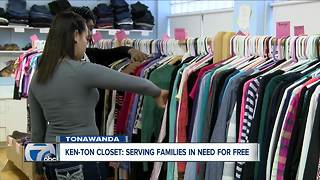 Ken-Ton Closet serving kids in the community since 2014 - Video