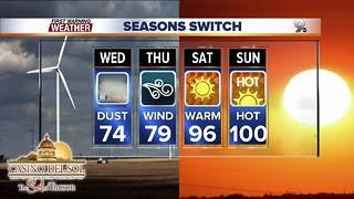 Chief Meteorologist Erin Christiansen's KGUN 9 Forecast Tuesday, May 1, 2018 - Video