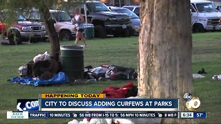 San Diego officials mull curfews at city parks