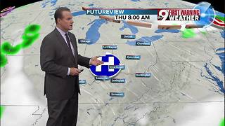 Your early Wednesday morning forecast - Video