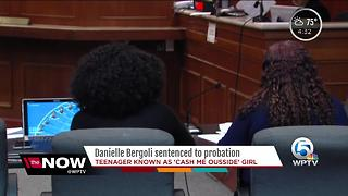 'Cash me ousside' teen Danielle Bregoli sentenced to probation - Video