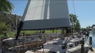 Man receives three new boats from strangers after his were destroyed during Tropical Storm Eta