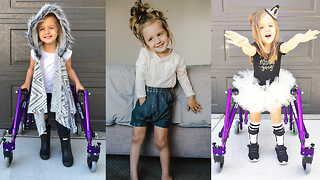 Meet The Instagram Star With Cerebral Palsy | BORN DIFFERENT - Video