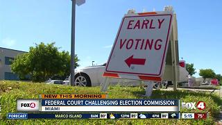 ACLU, others sue Trump voting commission in Florida - Video