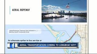 Aerial gondola system proposed for Sarasota to include stops in downtown, St. Armands - Video
