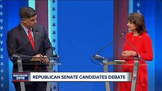 Recapping the 2018 GOP Senate debate - Video