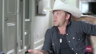 Justin Moore on friendship with Brantley Gilbert | Rare Country - Video