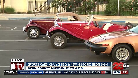 Sports car fans, grab your father and head to the Kern County Museum