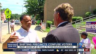 Shifting precincts confuse voters - Video