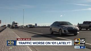 Valley drivers: Have you seen an unusual amount of traffic? - Video