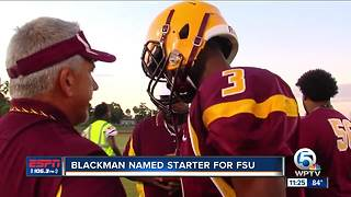 Blackman named FSU starter - Video