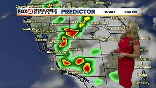 FORECAST: Warm & Humid with Scattered Storms - Video