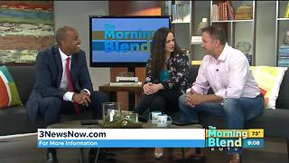 The Morning Blend welcomes 3 News Now morning anchor James Johnson