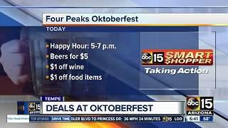 Deals at Oktoberfest in Tempe - Video