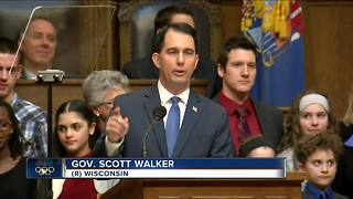 Gov. Walker calls for swift, bipartisan action on agenda in State of the State - Video