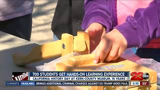 Kern County Museum hosted California History Day for third and fourth graders - Video