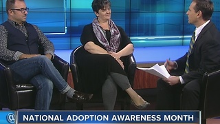 November is National Adoption Month - Video