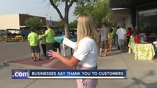Downtown Nampa businesses donate room makeover! - Video