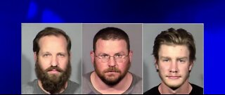 Mugshots of 3 men arrested on terrorism charges