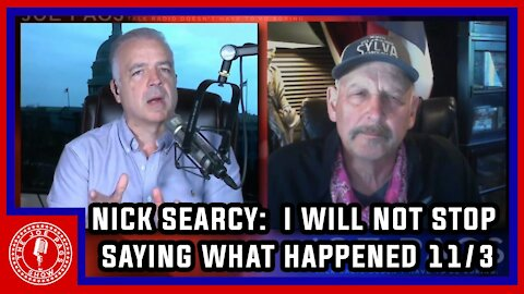 Nick Searcy Will NOT Be Canceled -- and Won't Stop Saying the Election Was Rigged!
