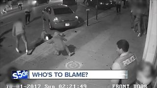 video shows chaotic scene of officer-involved shooting in Akron last October