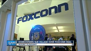 Mount Pleasant homeowners say government illegally taking their land for Foxconn - Video
