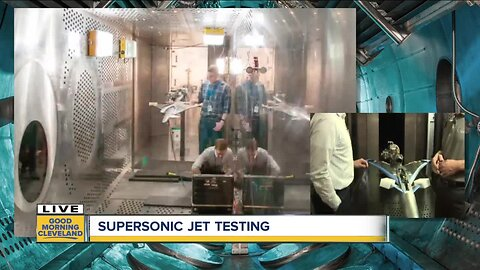 Trent speaks to researcher about new supersonic jet design