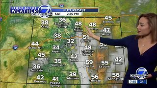 Dry and mild across Colorado this weekend - Video